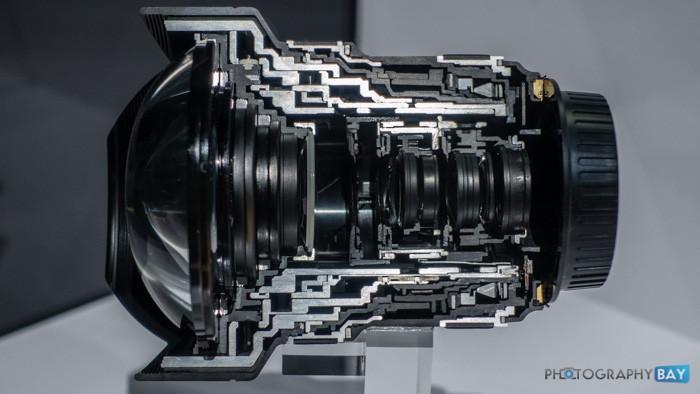Canon EF 11-24mm fl4L USM Lens Cutaway