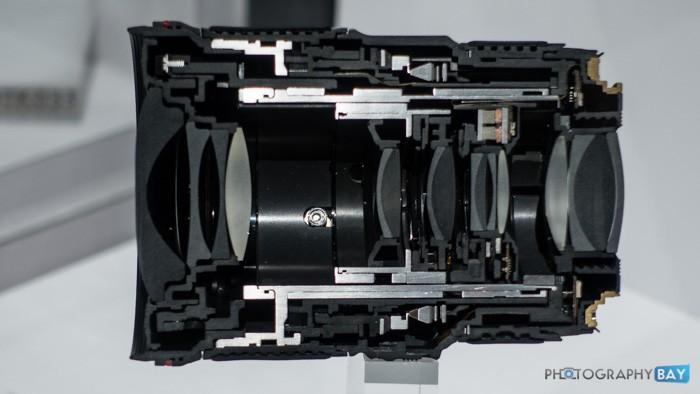 Canon EF 16-35mm f/4L IS USM Lens Cutaway
