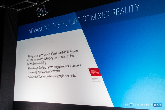 Canon MREAL Mixed Reality System