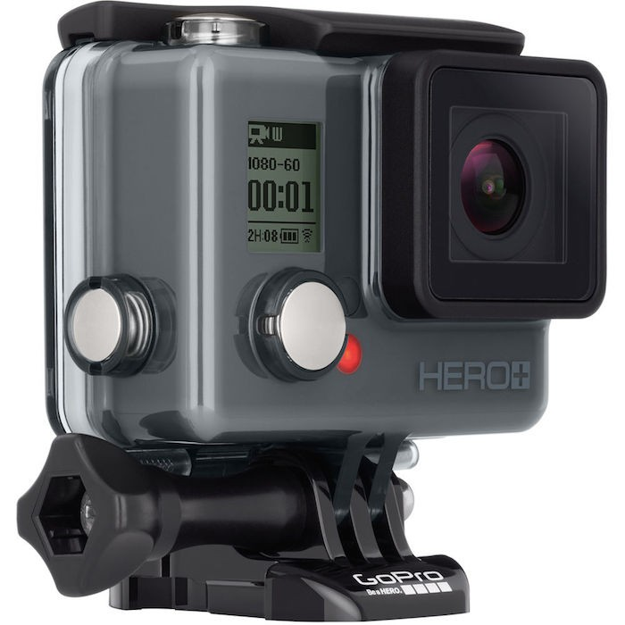 GoPro HERO+ angle