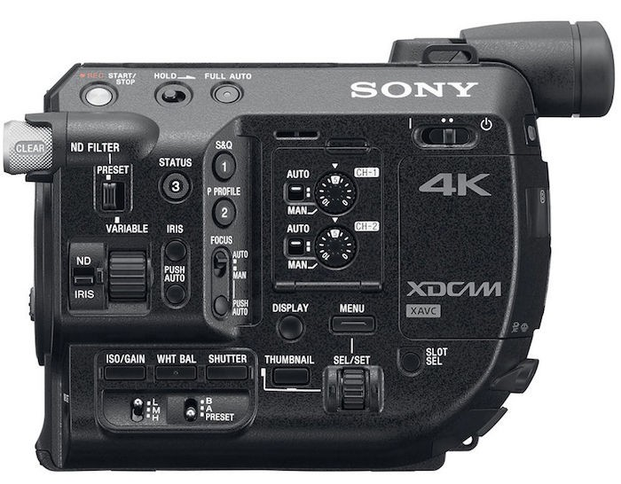 Sony FS5 Side
