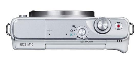 Canon EOS M10 top