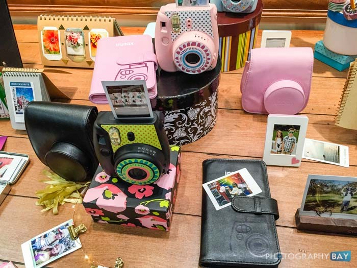 Fuji Instax Table