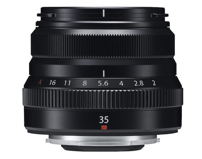 Fuji XF 35mm f2 R WR lens