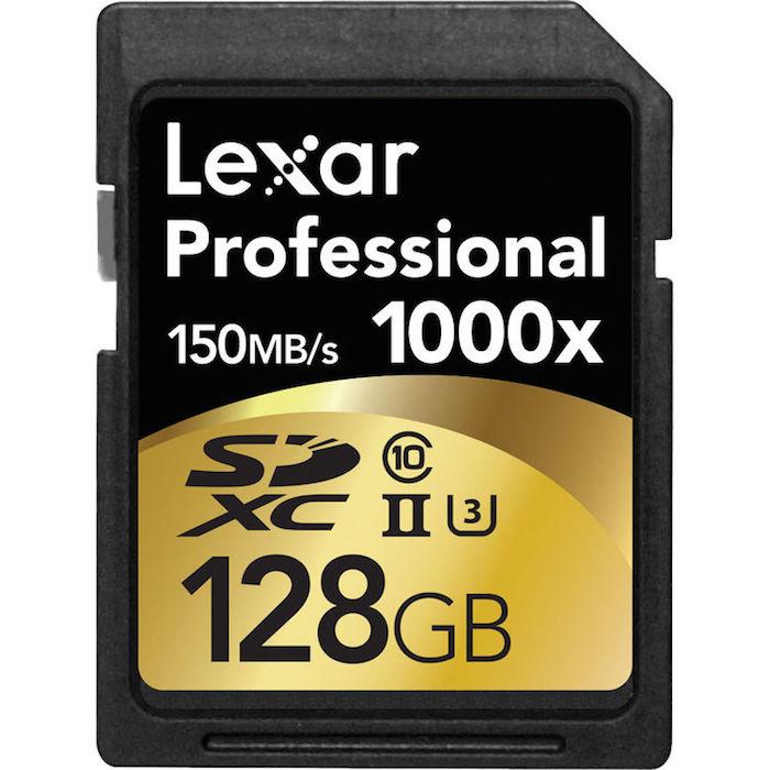 Lexar 128GB SDXC U3