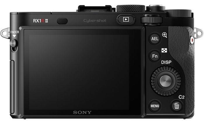Sony RX1R II back