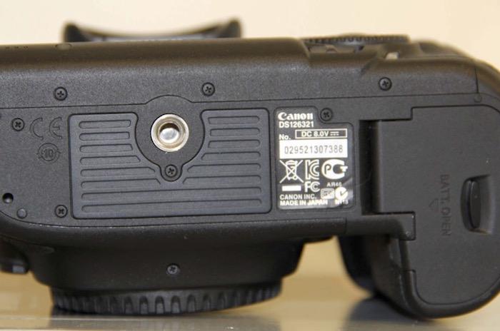 Canon 5D Mark III Counterfeit Serial Number Exhibit