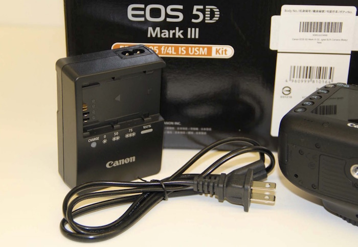 Gray Market Canon Battery Charger and non-UL Certified Cable