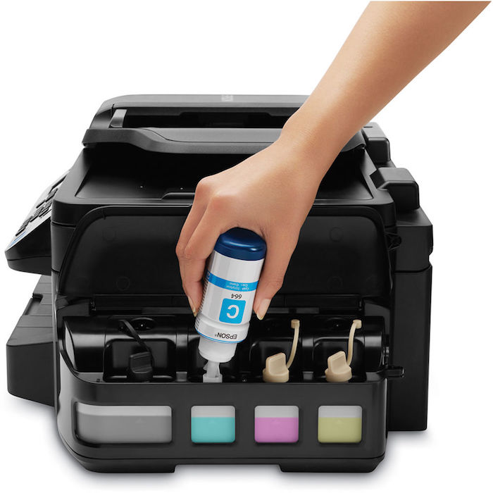 Epson WorkForce ET-4550 EcoTank All-in-One Printer Ink