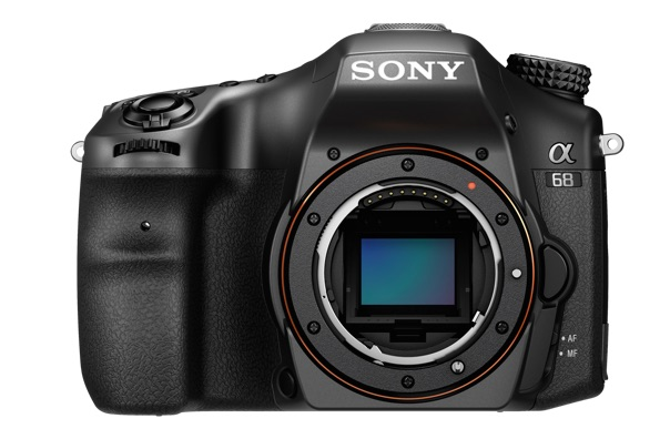 Sony A68 front
