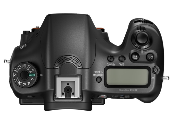 Sony A68 top