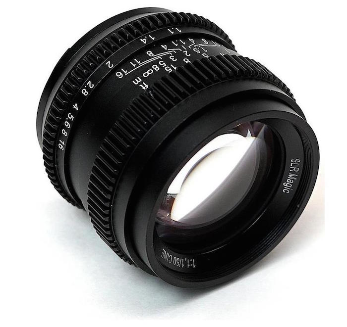 SLR Magic 50mm f1.1 Cine Lens