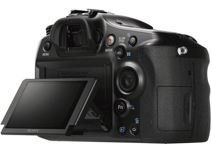 Sony A68 back