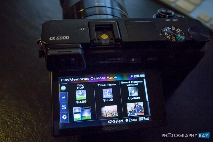 Sony Sky HDR App A6000