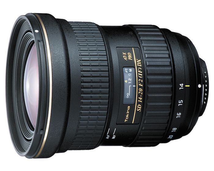 Tokina AT-X 14-20mm f2 PRO DX Lens