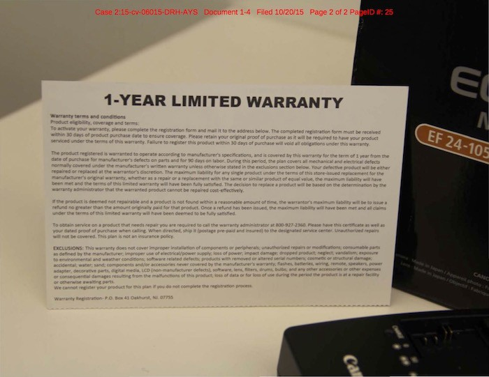 3rd Party Warranty for Gray Market Camera