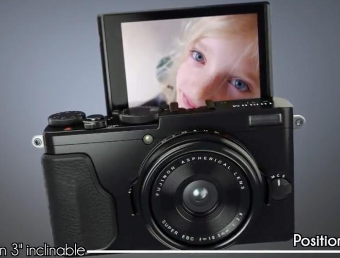 Fuji X70 LCD 180 Tilt