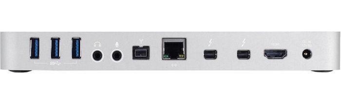 OWC Thunderbolt 2 Dock back