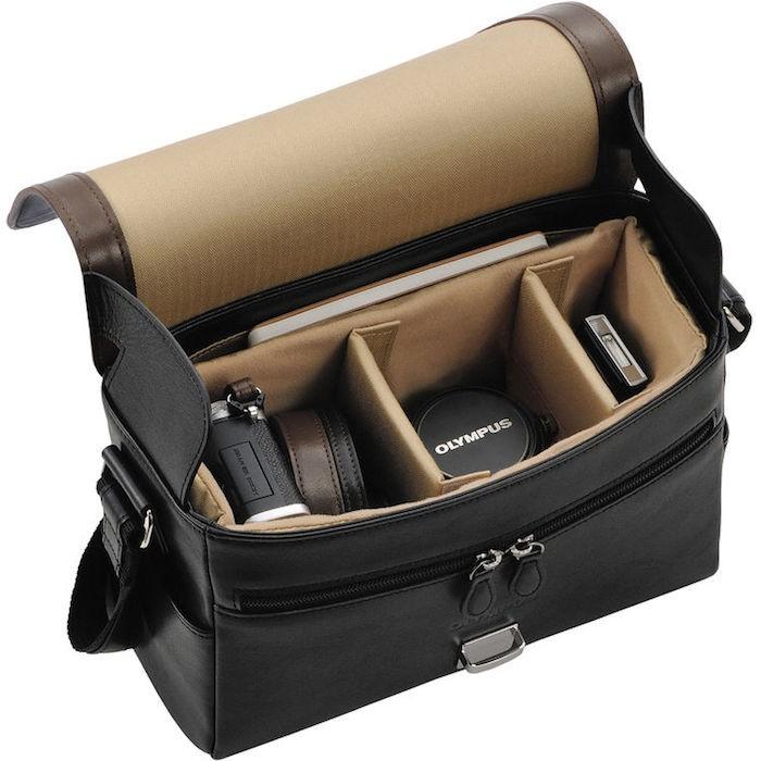 Olympus PEN-F Premium Leather Camera Bag