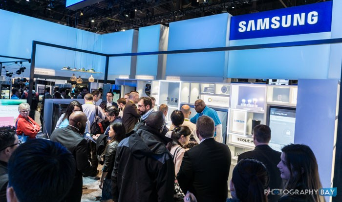 Samsung Booth at CES 2016