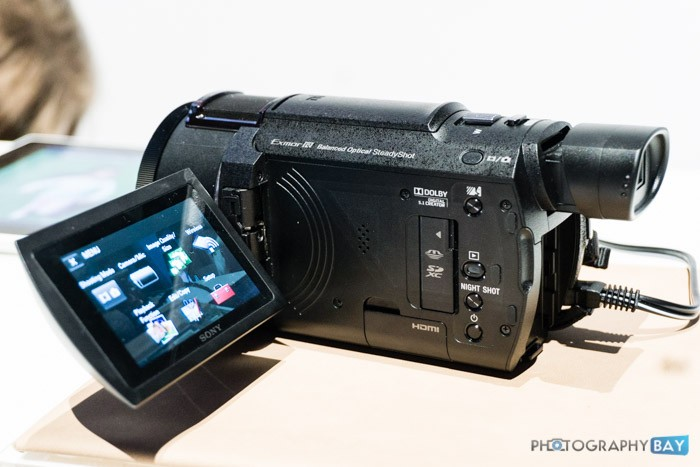 Sony FDR-AX53 4K Camcorder-2