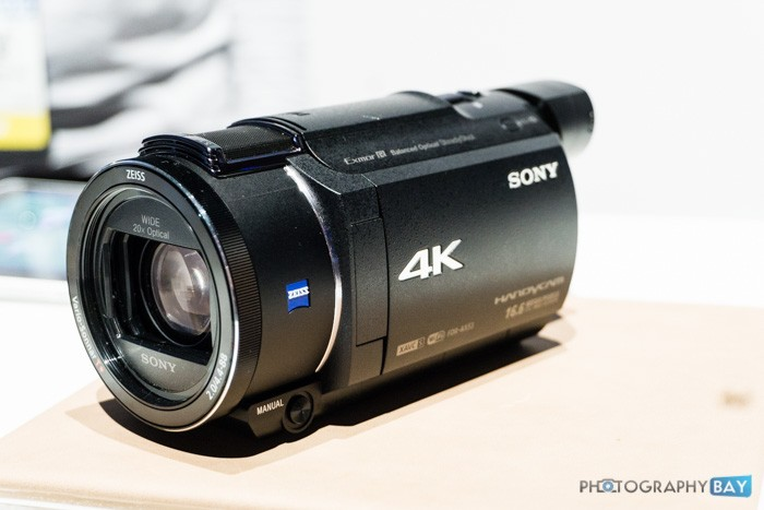 Sony FDR-AX53 4K Camcorder-3