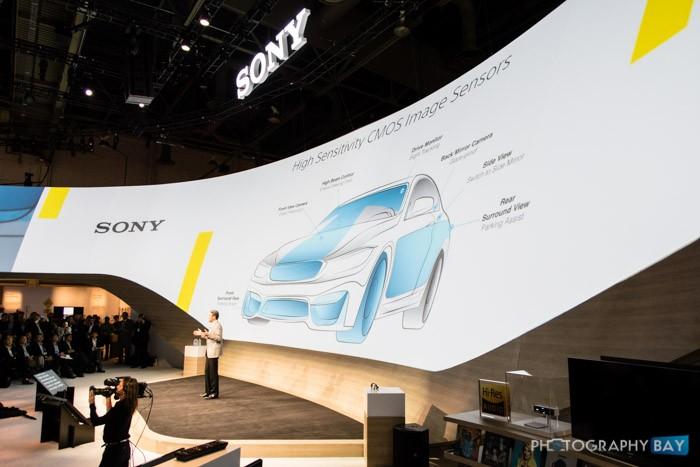 Sony Image Sensors in Automobiles