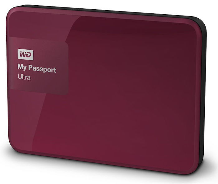 WD 1TB My Passport Ultra USB 3 Secure Portable Drive