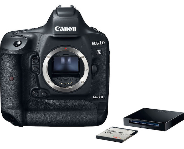 Canon 1D X Mark II with CFast Card and Reader
