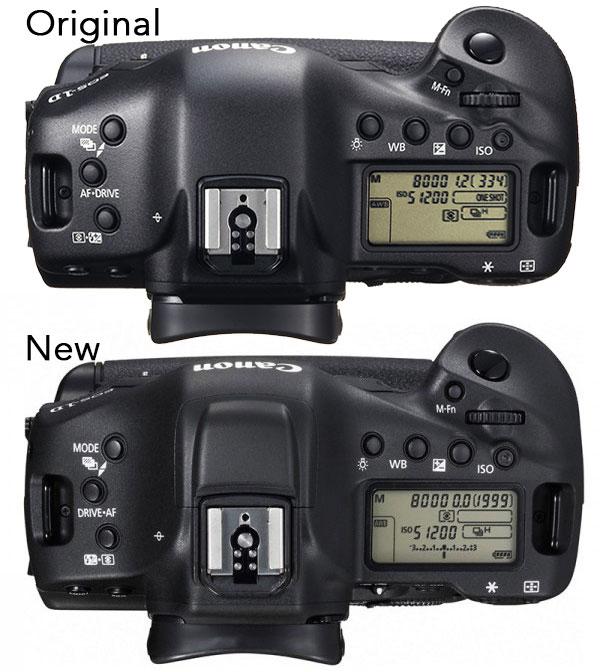 Canon-1D-X-vs-Canon-1D-X-II-top