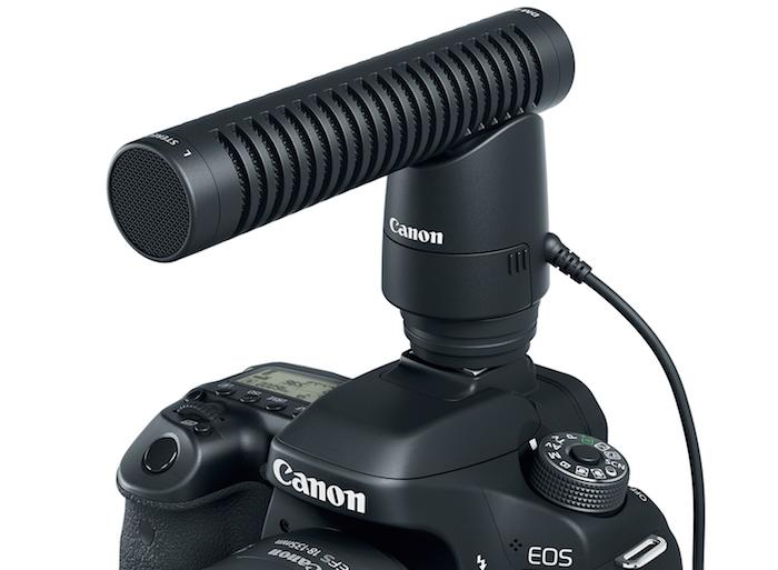 Canon DM-E1 Mic