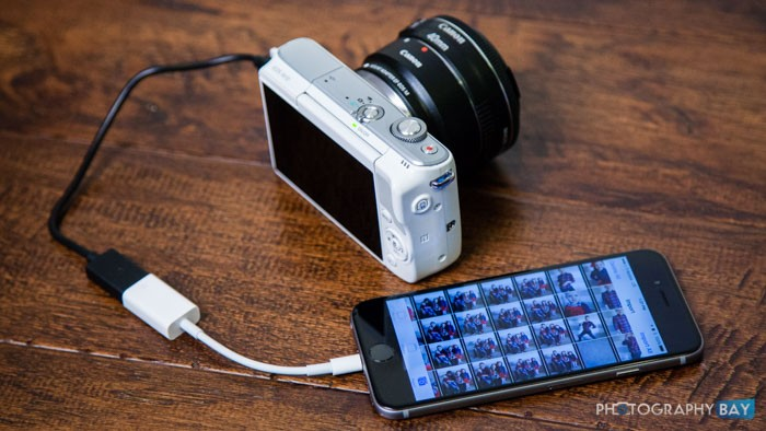 Canon eos m10 review - Camera connectee iphone ...