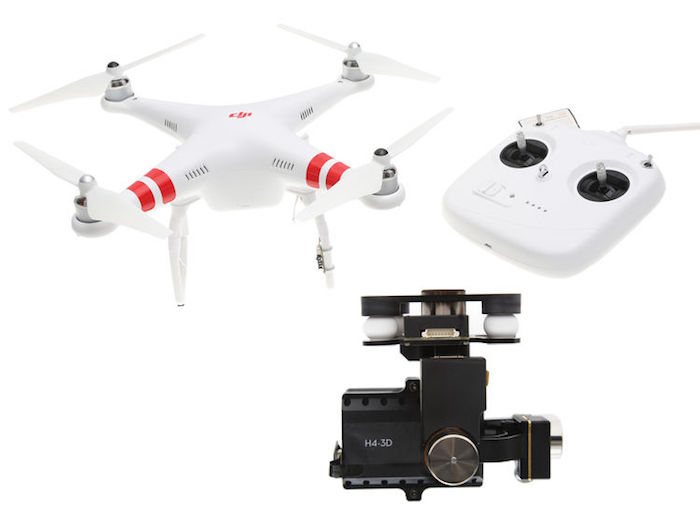 DJI Phantom 2 with Zenmuse H4-3D