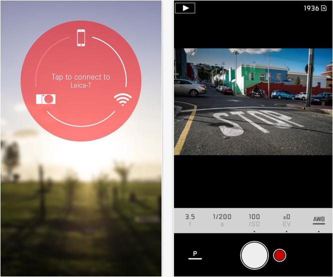 Leica T App