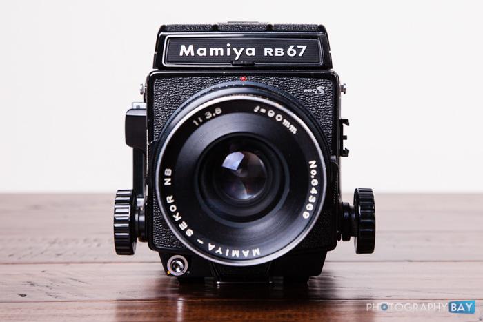 Mamiya RB67 Pro S front