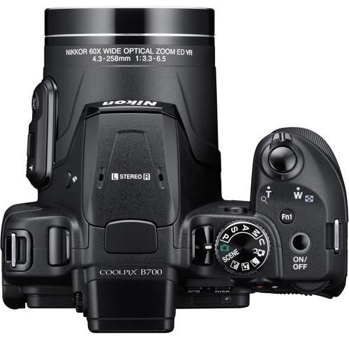 Nikon B700 top