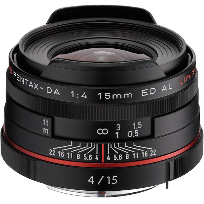 Pentax HD DA 15mm f4 ED AL Limited Lens