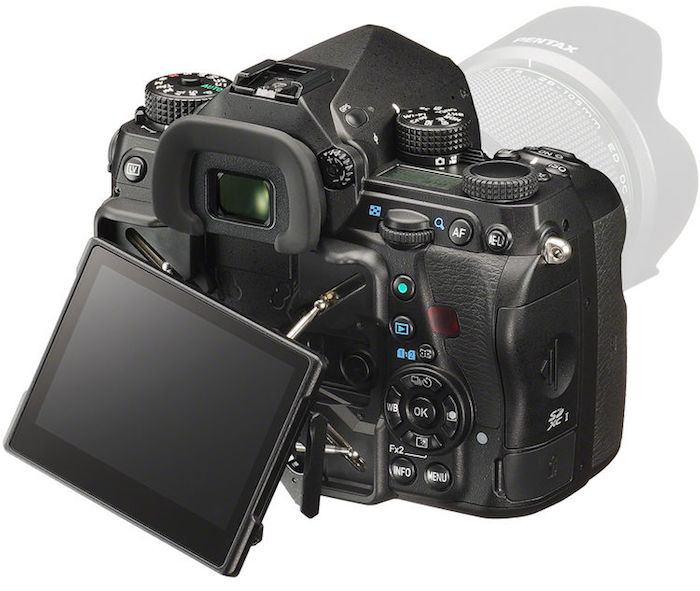 Pentax K-1 LCD