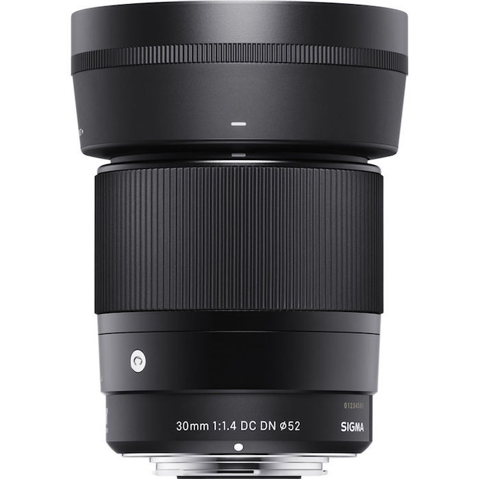 Sigma 30mm f1.4 DC DN Contemporary Lens hood