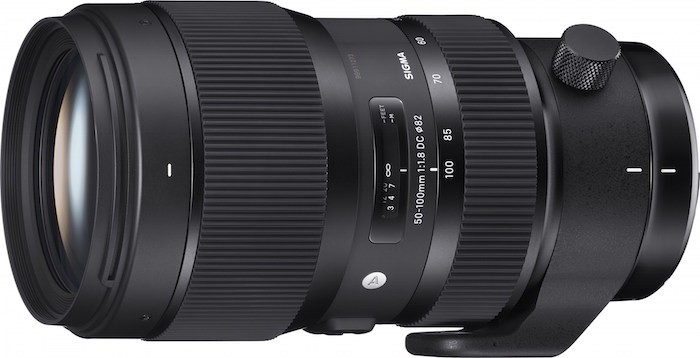 Sigma 50-100mm f1.8 DC HSM Art Lens
