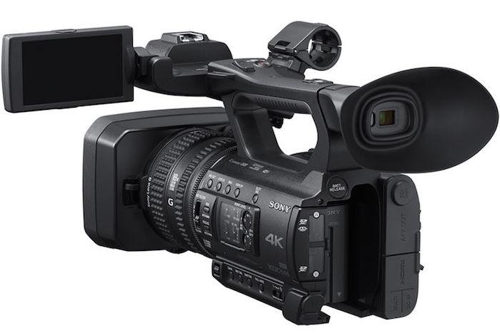 Sony PXW-Z150 rear
