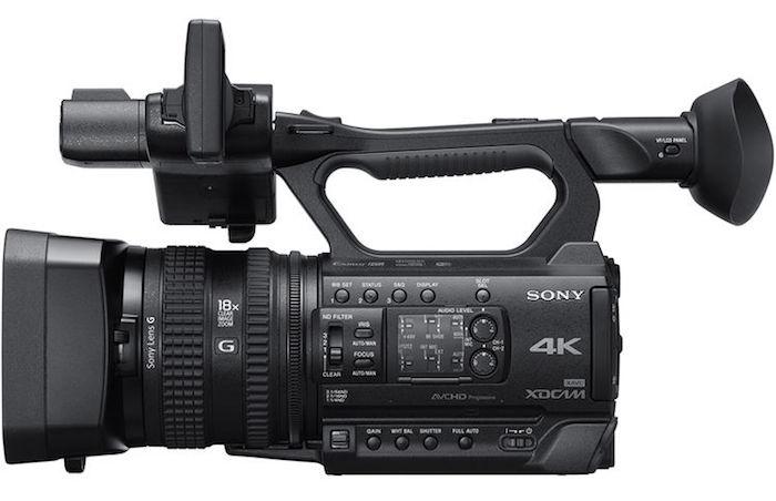 Sony PXW-Z150 side