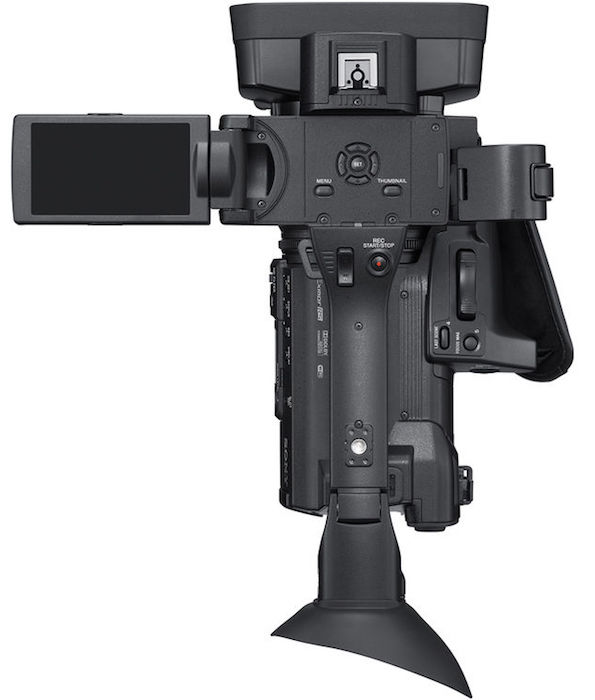 Sony PXW-Z150 top