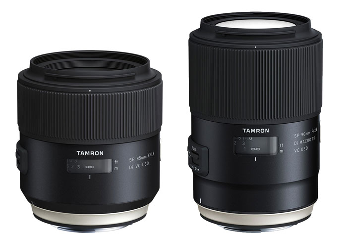 Tamron-SP-85mm-f1.8-Di-VC-USD-and-90mm-f2.8-Di-VC-USD-Lenses