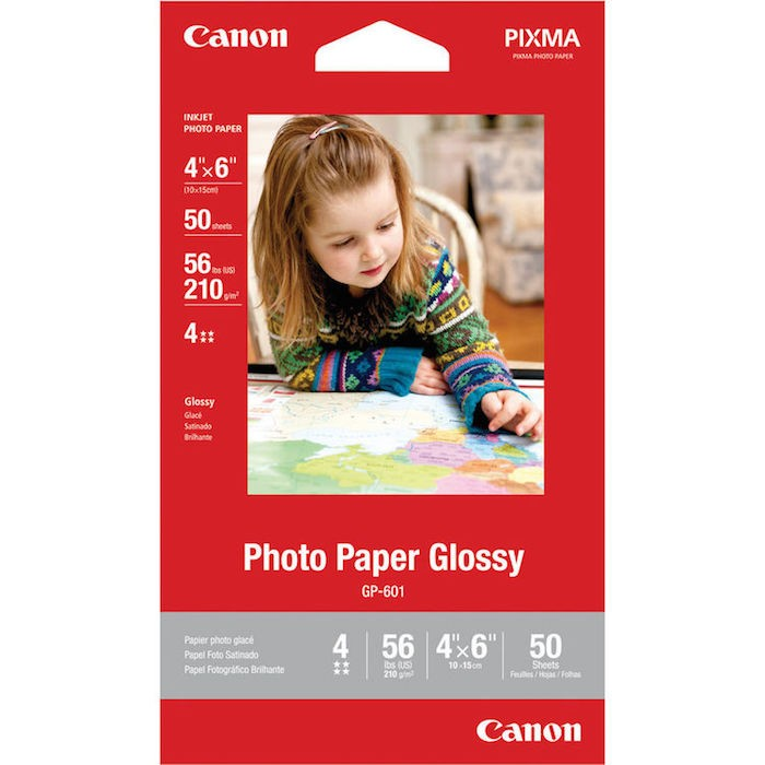 Canon Photo Paper 4 x 6 - 50 sheets