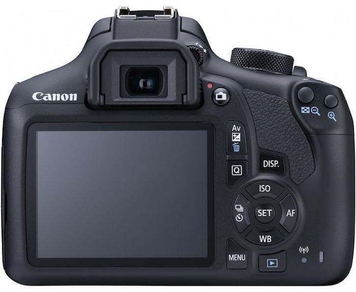 Canon Rebel T6 back