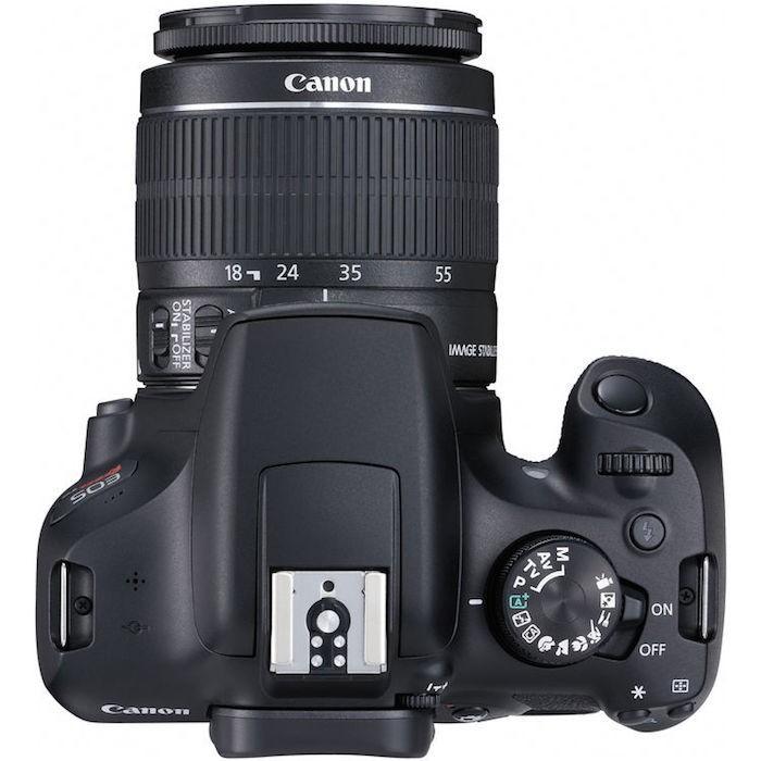 Canon Rebel T6 top