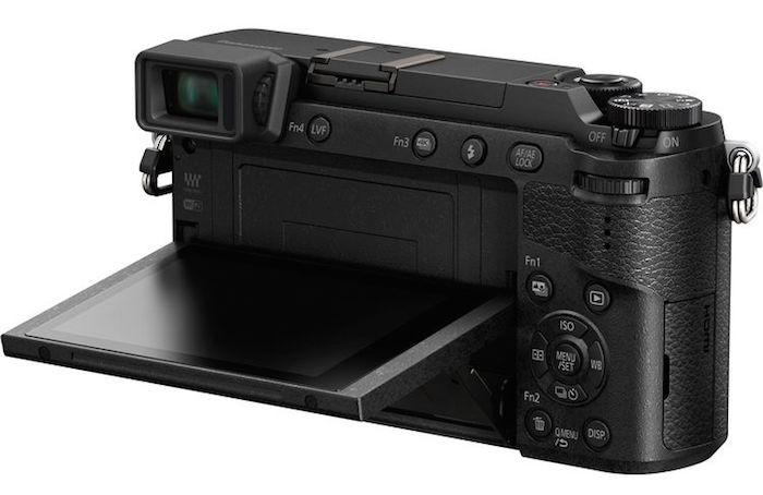 Panasonic Lumix GX85 back