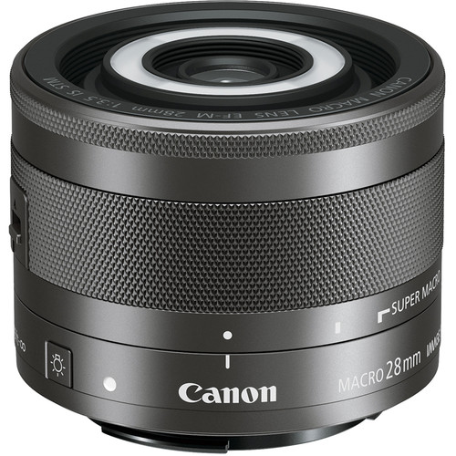 Canon EF-M 28mm f3.5 Macro IS STM lens