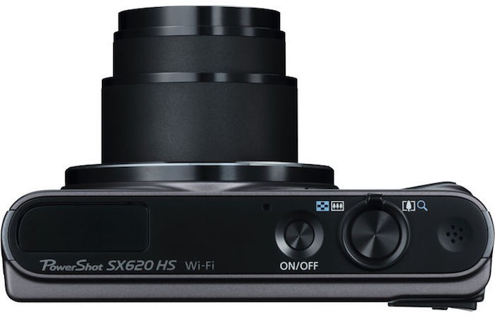 Canon PowerShot SX620 HS top